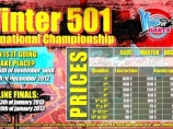 Play against the best worldwide darts players at the International 501 Winter!