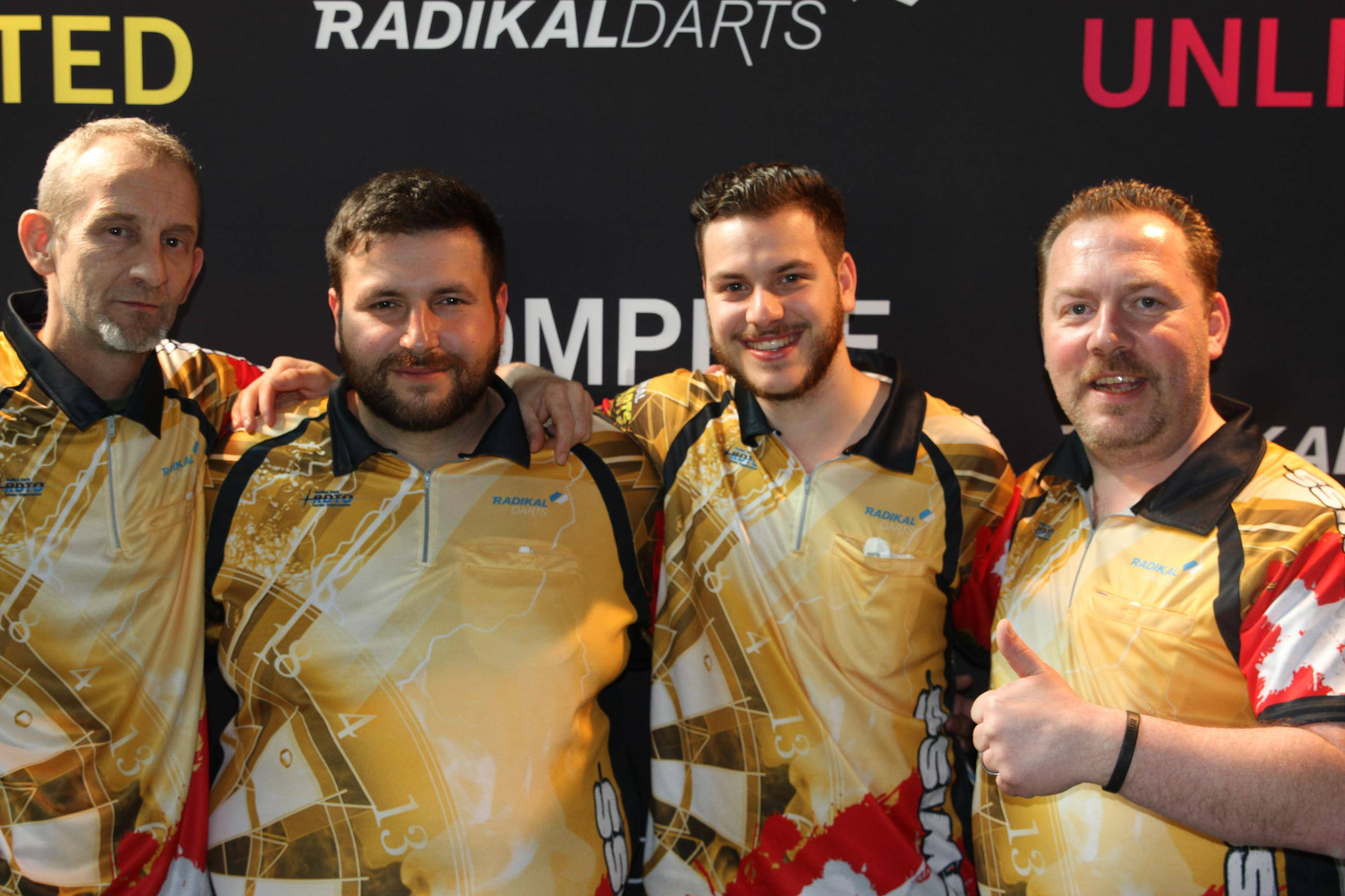 Internacional Radikal Darts 2018 Photocall