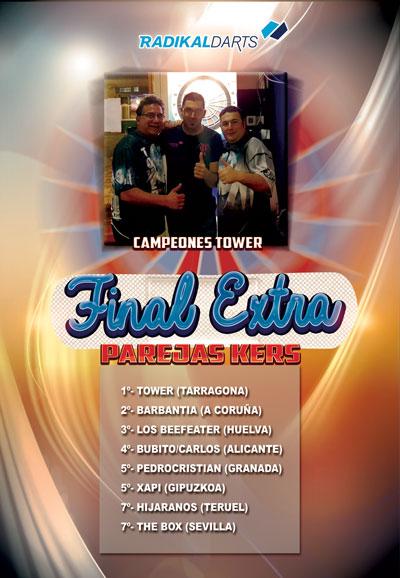 Final Online Torneo Extra Parejas Kers RadikalDarts