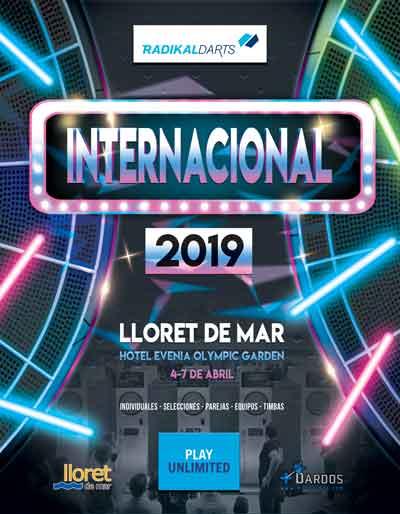 Campeonato Internacional RadikalDarts, Campeonato presencial 2019
