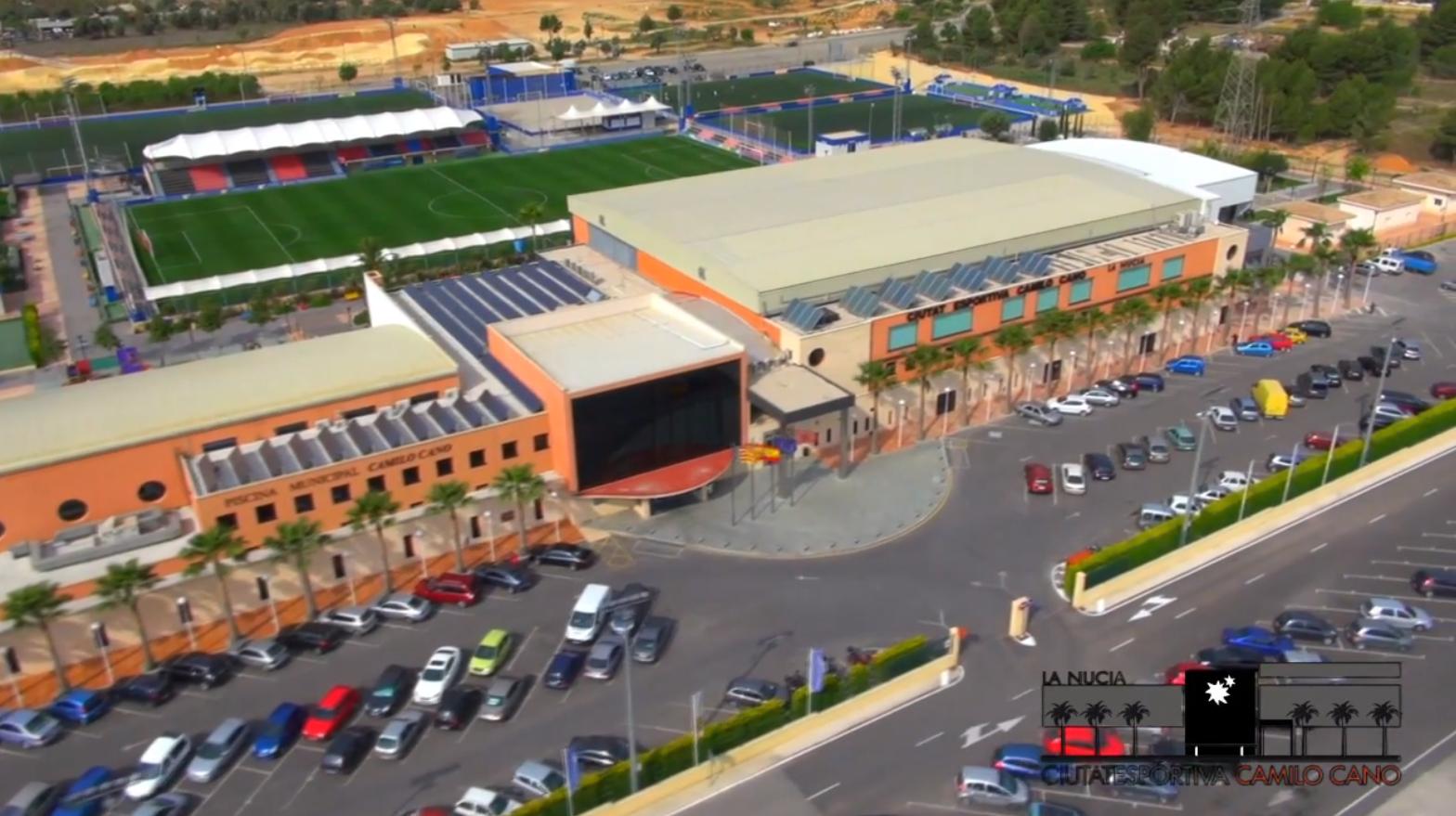 Ciudad Deportiva Camilo Cano sede del Campeonato Nacional de Dardos RadikalDarts 2019