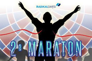 Tabla de puntos campeonato de dardos online La Maratón