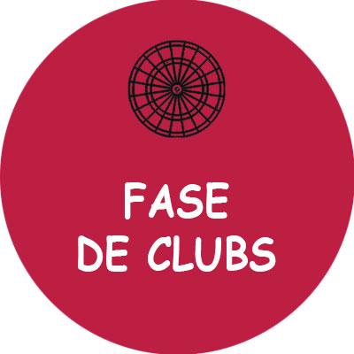 Fase de Clubs el mejor club de dardos