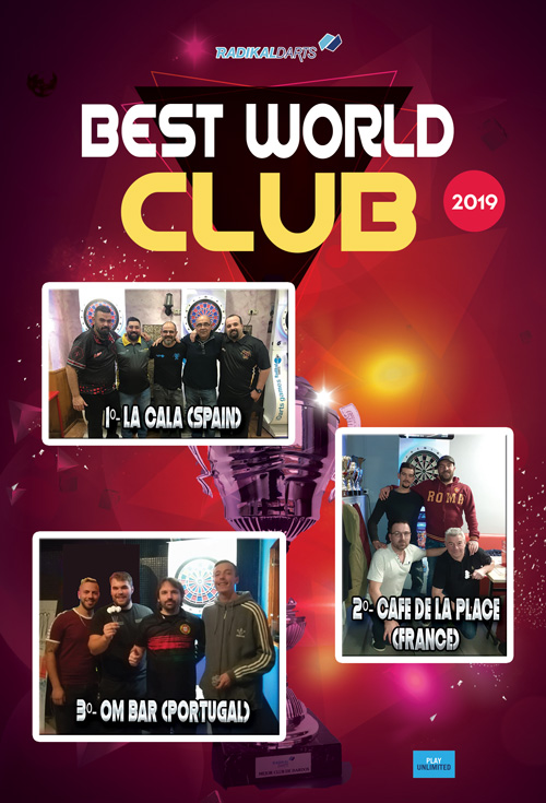 Mejor Club Mundial RadikalDarts 2019
