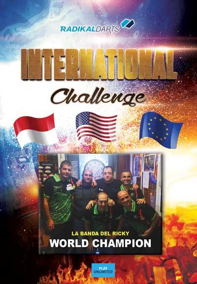 Resultados del International Challenge RadikalDarts