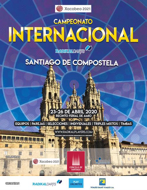 Internacional de dardos RadikalDarts Santiago de Compostela 2020