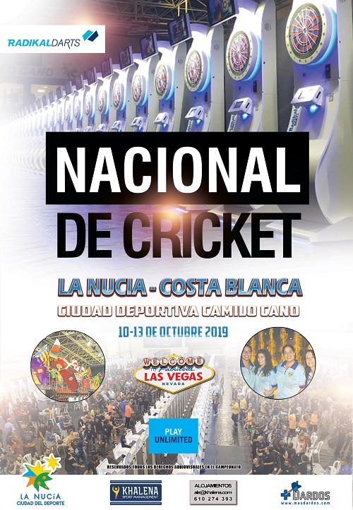 Campeonato Nacional La Nucia 2019 RadikalDarts