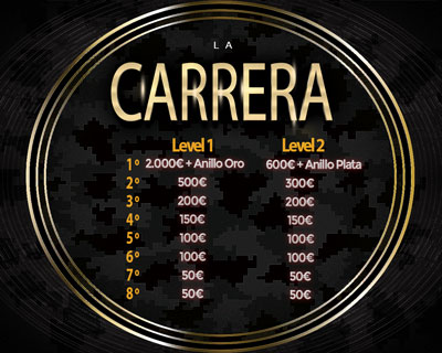 Premios Finales online La Carrera Radikal Darts