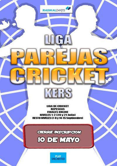 Liga Parejas Kers Cricket RadikalDarts
