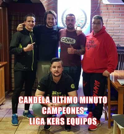 Equipo Candela Ultimo Minuto campeon nivel 2 finales online Equipos Kers 2019