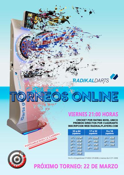 Torneos Online de Dardos RadikalDarts