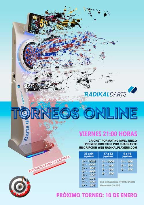 Torneo Online Radikal Darts