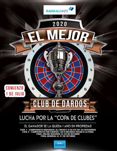 El Mejor Club de dardos Radikal Darts 2020