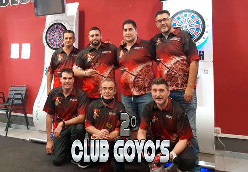 Subcampeones Mejor Club de Dardos Goyo's