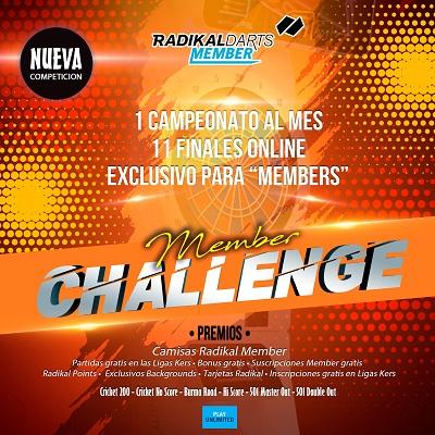 Member Challenge Radikal Darts