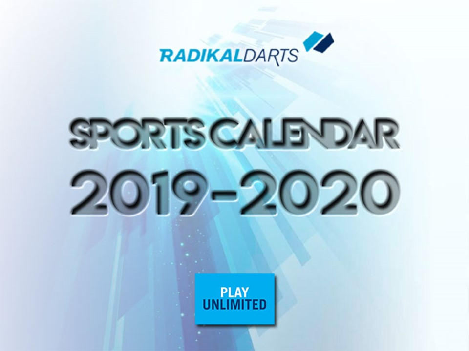 Sports Calendar RadikalDarts
