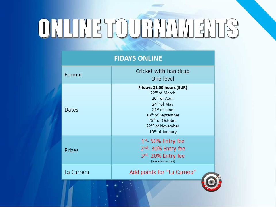 Online Tournaments RadikalDarts