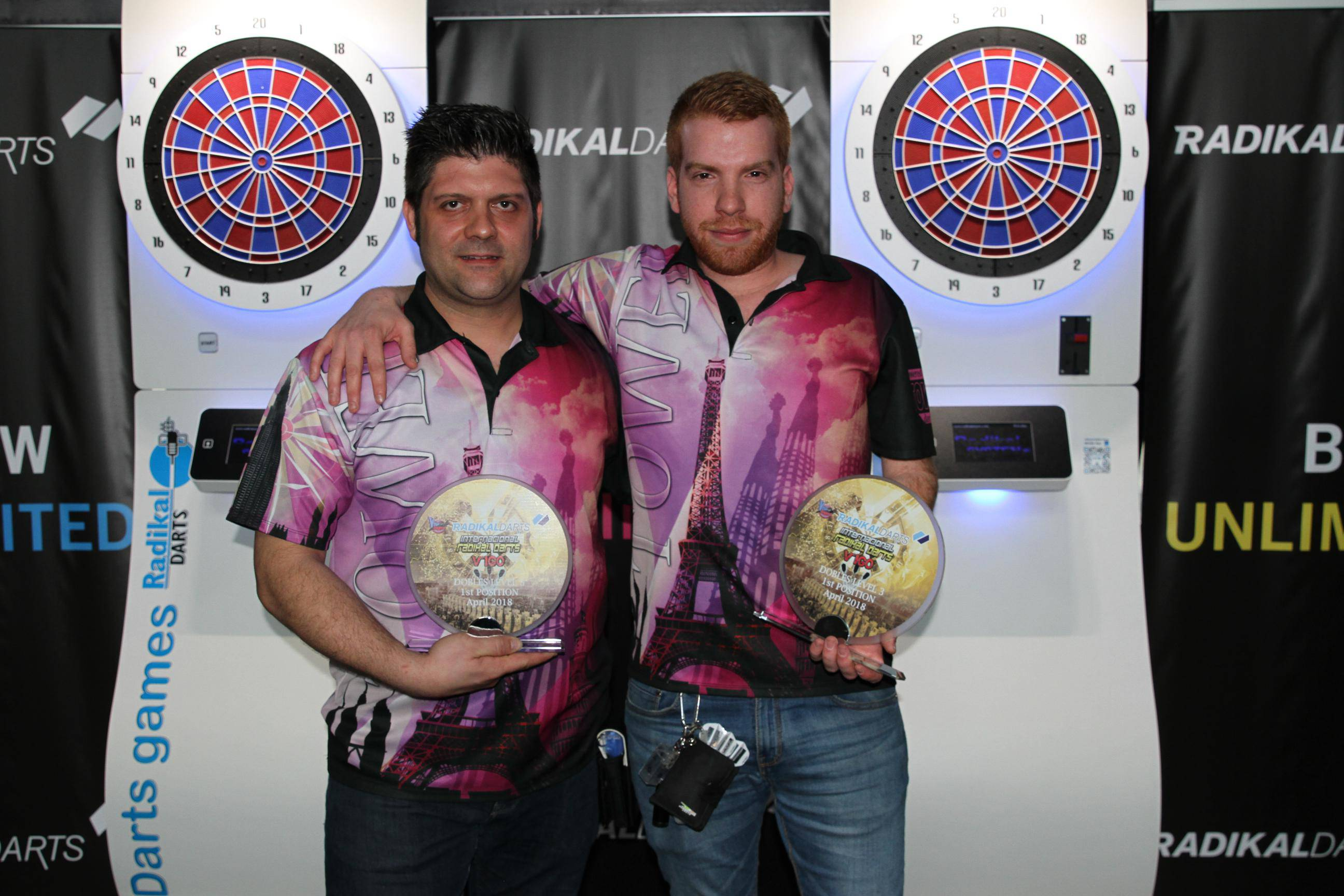 Internacional Radikal Darts Campeones Dani Tower-Alex Parejas Nivel 3