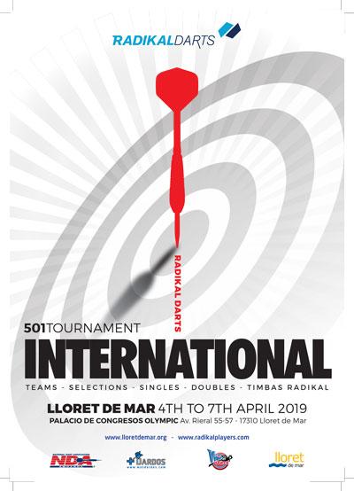 Radikal Darts International Championship from April 4 to 7 in Lloret de Mar.