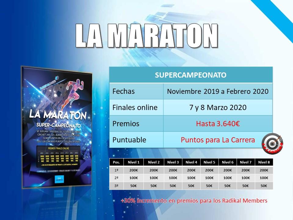 Supercampeonato RadikalDarts La Maratón
