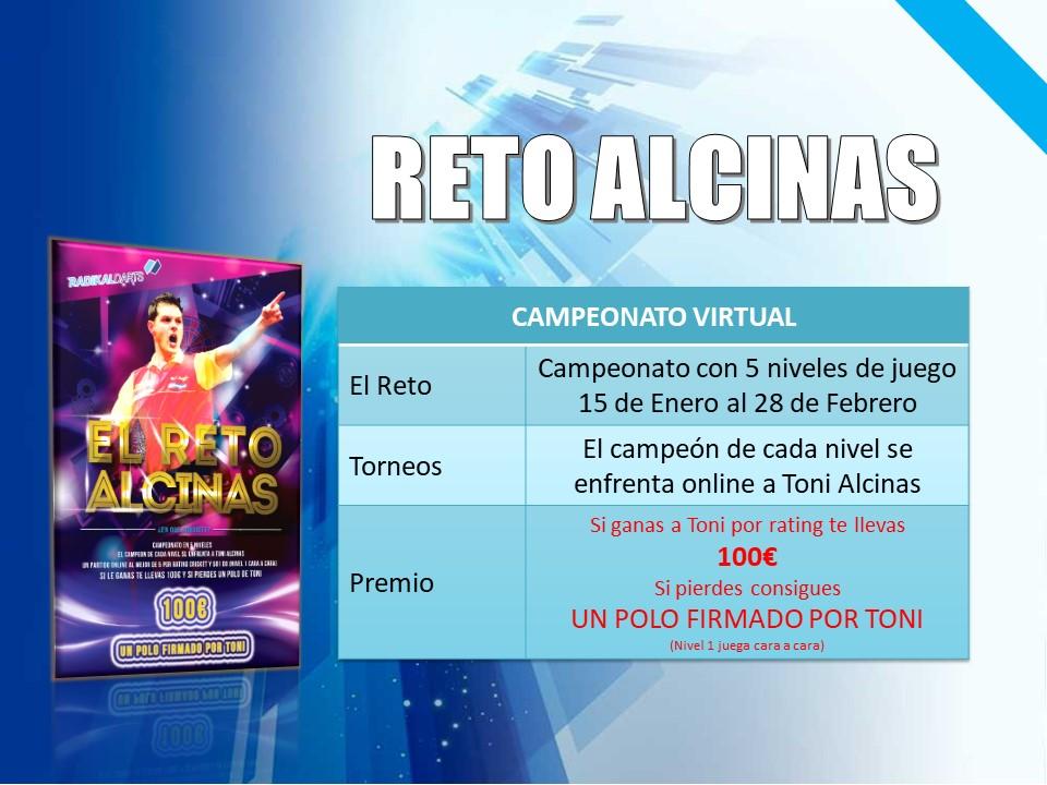 Reto Toni Alcinas Campeonato Virtual RadikalDarts con enfrentamiento Online en la Final