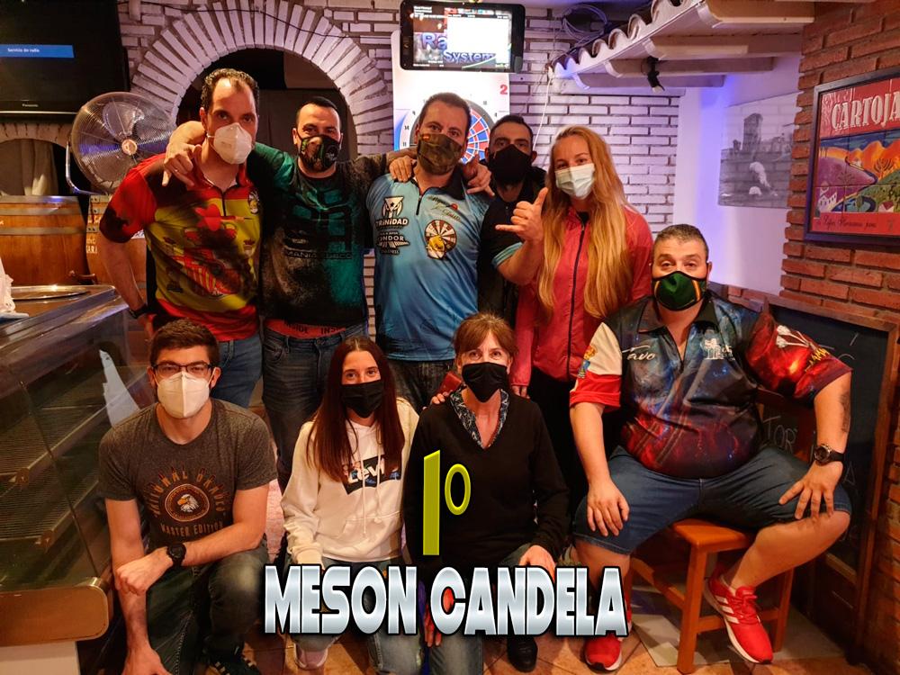 Campeón Mejor Club 2020 Meson Candela