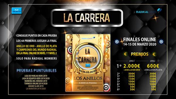 Finales La Carrera Anillo de Oro Radikal Darts