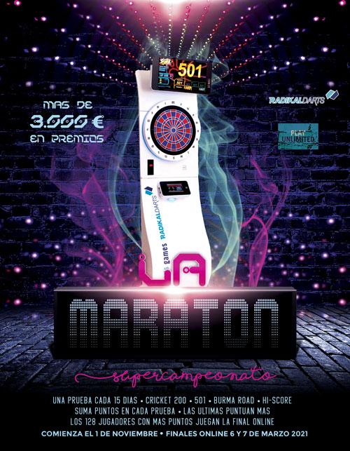 Super Campeonato de dardos La Maratón de Radikal Darts