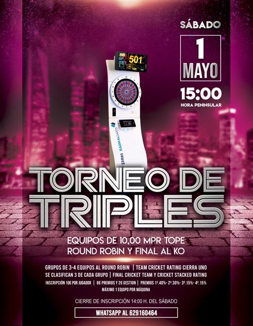 Torneo Triples Radikal Darts